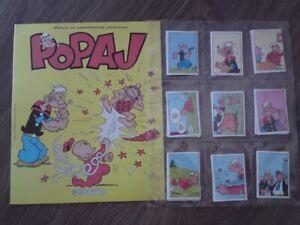 Popeye the Sailor Decje novine Album+ complete stickers set