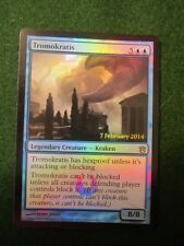 Tromokratis foil prerelease card for Born of the Gods
