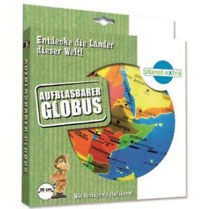 **NEU** Aufblasbarer Globus - Durchmesser: 30 cm - Entdecke die Länder der Welt
