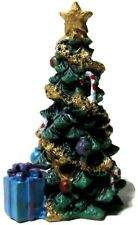 Lemax Village Decorated House Christmas Tree Garland Star Top Presents
