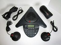 Polycom SoundStation2 EX Conference Phone with Extended Mics 2201-16200-601 (N1)