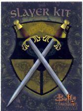 Buffy TVS Season 1 Chase Card Slayer Kit S6  A Sword