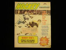 May 1973 Hockey Pictorial Magazine - Bobby Orr Cover