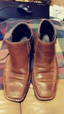 Kenneth Cole Reaction Men's boots shoes zipper wild punch 7.5