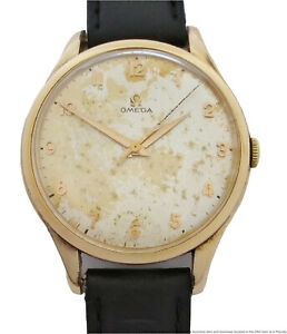 Huge Omega Cal 263 BK2506-5SC 39mm Sweep Seconds Mens Gold Plated Wrist Watch