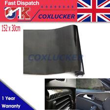 5d Carbon Fiber Texture Car Black Glossy Wrap Sticker Film Decal Roll 152 X 30cm