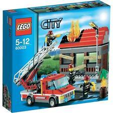 LEGO CITY 5-12 ANNI FIRE EMERGENCY POMPIERI  60003  RARO NUOVO FUORI PRODUZIONE