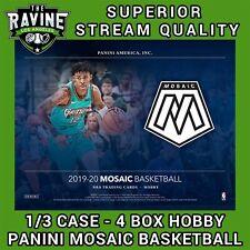 LOS ANGELES CLIPPERS 2019-20 MOSAIC HOBBY BASKETBALL 1/3 CASE 4 BOX BREAK #3