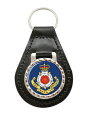 King's Division, British Army Leather Key Fob