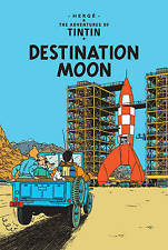 The Adventures of Tintin: Objectif Lune by Herge (HB 1959) French Edition