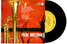 "FILM MELODIES - MY FAIR LADY / DR ZHIVAGO - 5-TRACK EP 7"" 33 RECORD PIC SLV"