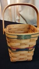 Longaberger 1997 Bee Basket Bringing America Home