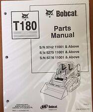 Bobcat T180 Turbo Track Loader Parts Manual Book 6902471