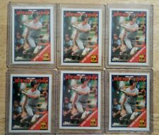 1988 Topps Mike Greenwell LOT OF 6 Boston Red Sox #493 all-star rookie card
