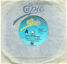 """U.B. 40 - FOOD FOR THOUGHT - 7"""" 45 VINYL RECORD - 1980"""