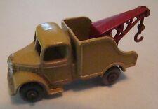 Matchbox 13B Bedford Wreck Truck GPW 1958