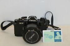 Canon EF 35mm Camera - EF Camera Body w/ BS58 / FD55mm / 1:1.2 S.S.C lens