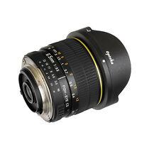 Opteka 6.5mm HD Fisheye Lens for Nikon D200 D3000 D3100 D3200 D5000 D5100 D5200