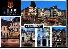 Postkarte Trier Fotokunst Schwalbe: M8 Am Hauptmarkt
