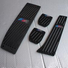 Black Footrest Pedal Rest Set fit for BMW X1 E46 E90 E92 E93 E87 MT