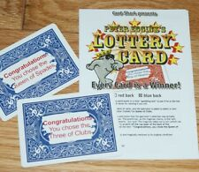Lottery Card (Peter Eggink) - card revealed by scratch-off on card back! Tmgs