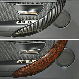 Inner for BMW 3 4 series F30 F31 F32 F35 Door Handle Cover Carbon Texture Trim