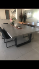 Concrete Dining Table - Steel legs  - 3000 x 1500 - Made to order