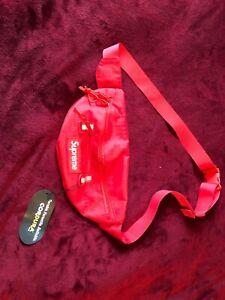 Supreme Waist Bag (SS19) Red