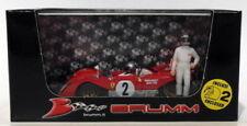 Véhicules miniatures jaunes Brumm pour Ferrari