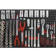 JMP Werkzeugsatz In Einl96teilig schwarz 4043981128895