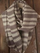 Cg43 - Knitting Pattern - DK Wide Striped Scarf / Snood