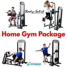 7 Piece Home Gym Circuit - Body-Solid Pro-Select 210lb Fitness Equipment