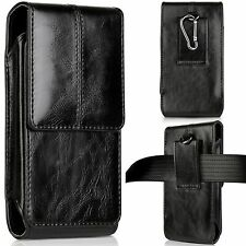 Vertical Leather Case Pouch Cover Sleeve For iPhone 11 Pro Xs X Samsung S9 S10
