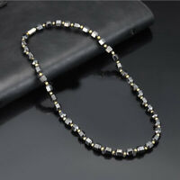 Unisex Magnetic Therapy Necklace Healthy Weight Loss Energy Necklace Jewelry
