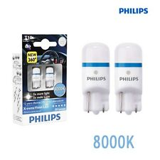 Philips LED W5W T10 Xtreme Vision 360 ° 8000K 12 127998000KX2 w2.1x9.5d NEW
