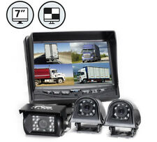 """Rearview Safety 7"""" Backup Camera System with Quad View Monitor"""