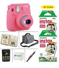 Fujifilm Mini 9 Instant Film Camera (Flamingo Pink)+20 Film Sheets + Accessories