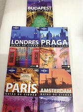 Guia Lonely Planet Londres 2010 Praga 2011 Budapest 2010 Paris 2011 Amsterdam
