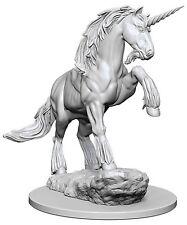Pathfinder Deep Cuts Unpainted Miniatures: Unicorn (NEW)