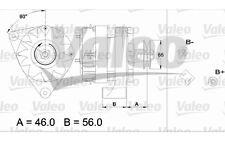 VALEO Alternador RENAULT TRAFIC 18 11 FUEGO 9 20 433429