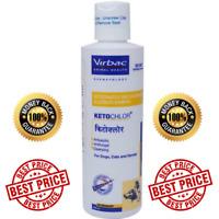 Antifungal Antiseptic Cleansing Shampoo For Dog Cat Horse 200ml Virbac Ketochlor