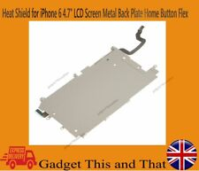 "Heat Shield For iPhone 6 4.7"" LCD Screen Metal Back Plate With Home Button Flex"