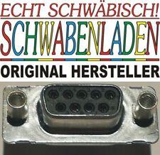10 x D-Sub-Standard-Steckverbinder 9P DSUB SOCKET STRT THRU-HOLE