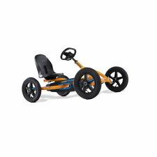 Berg Buddy B Kids Pedal Car Go Kart Black / Orange 3 - 8 Years