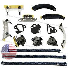 For Cadillac Buick Chevrolet Saturn Pontiac GMC 3.6L 3.0L DOHC Timing Chain Kit