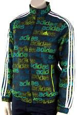 Adidas Kinder Trainingsjacke Sport Jacke Schwarz Grün Junge Mädchen 7-16 Yahre