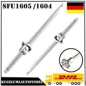 SFU1204 SFU1605 Kugelumlaufspindel mit Einzelkugelmutter Kugelgewindetrieb Set
