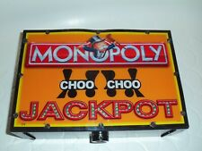 MONOPOLY JACKPOT Electric Light Sign Box Double Sided - From Arcade Game