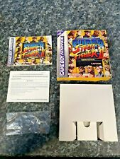 GBA Super Street Fighter 2 Gameboy Advance Box Only.