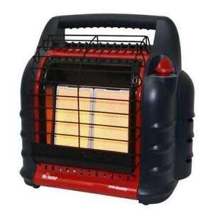 Mr. Heater 4000/9000/18000 BTU Big Buddy Portable LP Gas Heater Indoor OK MH18B